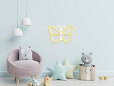 Butterfly sign for Kids Room