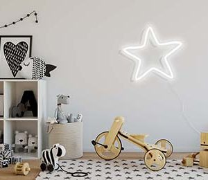 Star sign in the Kids Room