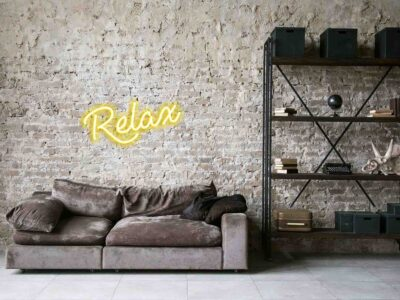 Relax Sign Board