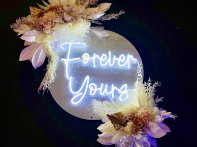 Forever Yours Neon Sign